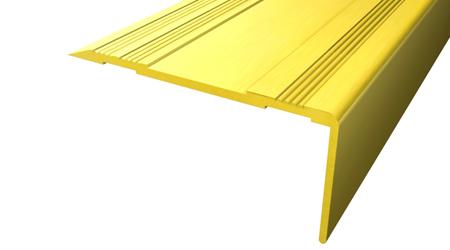 Cantonera - 50 aluminio oro sin antideslizante