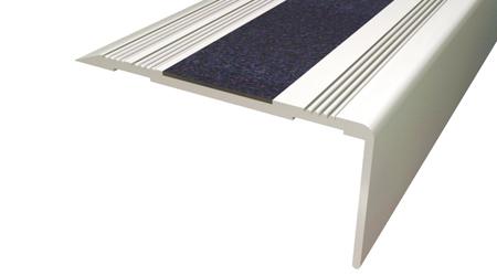Cantonera - 50 Aluminio plata