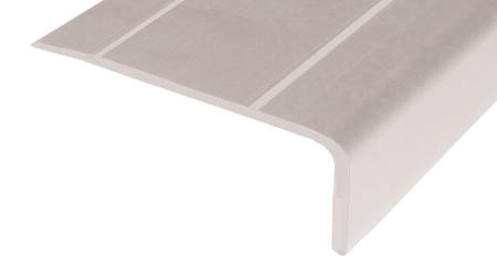 Cantonera - 40 aluminio plata