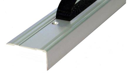 Cantonera - 50 Aluminio para taladros