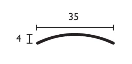 Media caña - 35