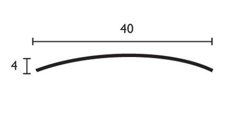 Media caña - 40