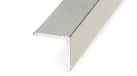 Ángulo 15 x 15 - aluminio plata
