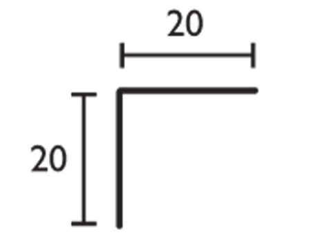Ángulo - 20x20