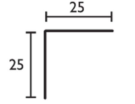 Ángulo - 25x25
