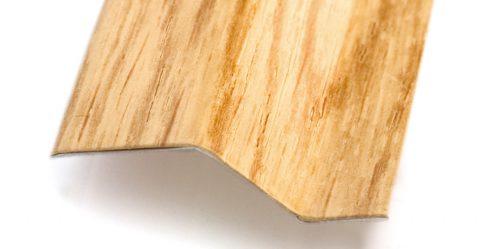 Pletinas aluminio imitación madera