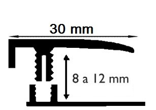 Carril Terminal - 10mm