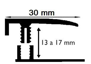 Carril Terminal - 14mm